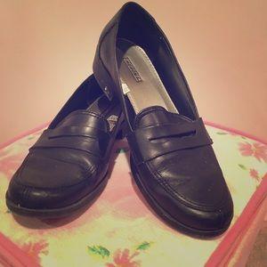 Black Merona Dress Shoes Women's Size 7.5